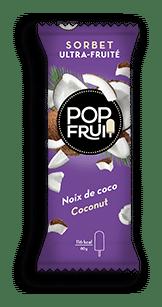 sachet noix de coco sorbet PopFruit