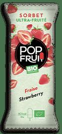 Bio snack fraise PopFruit
